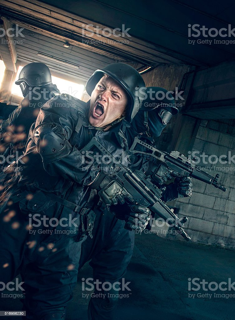 S.W.A.T stock photo