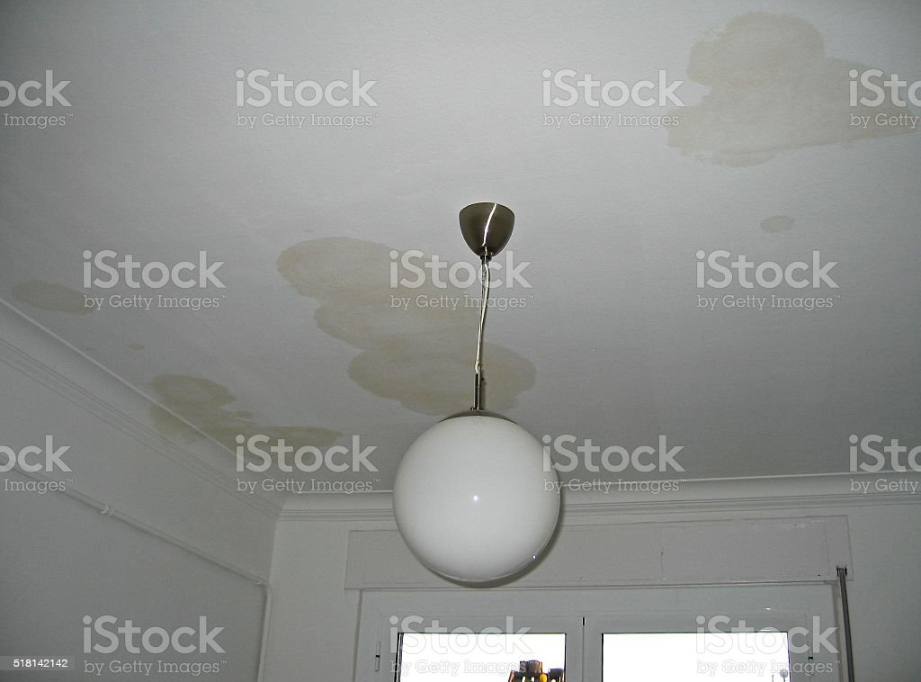 LEAK AND LAMP stock photo