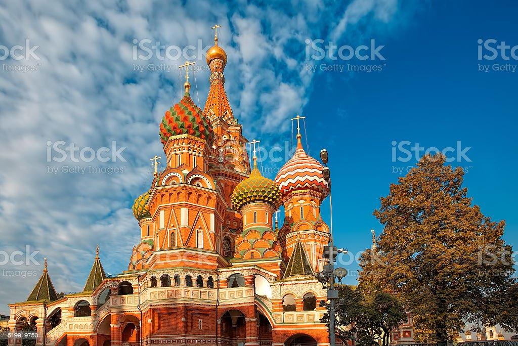 Собор Василия Блаженного royalty-free stock photo