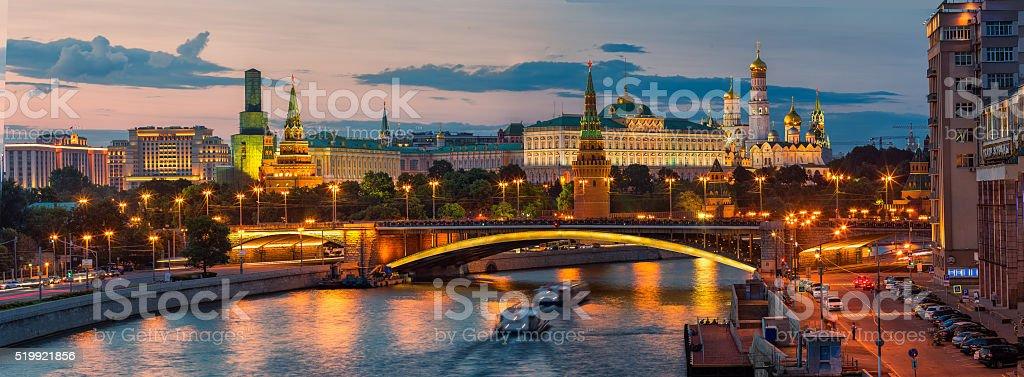 Вечерний Кремль stock photo
