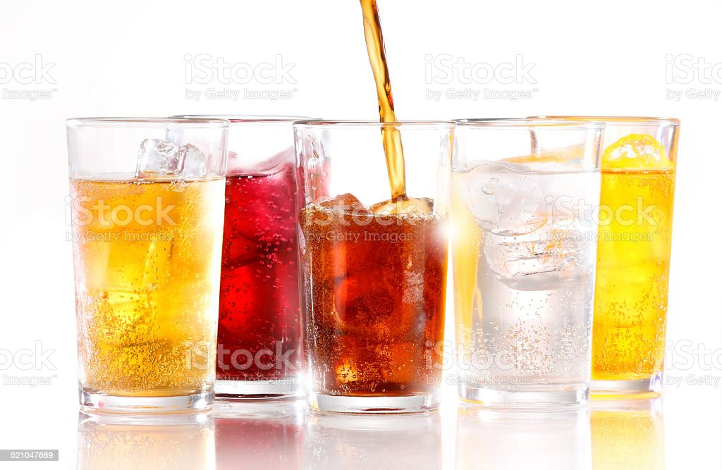 SOFT DRINKS stock photo