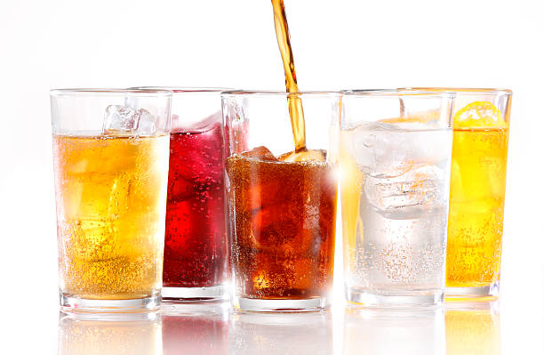 soft drinks - soda pop stock photos and pictures