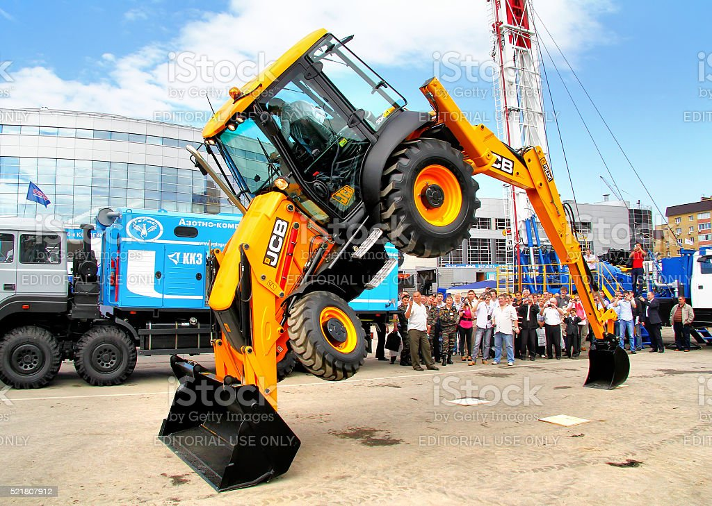JCB 3CX stock photo