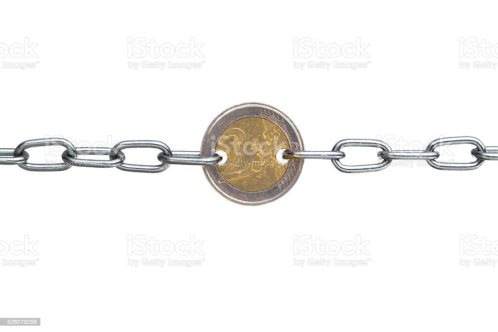 EURO TUG OF WAR stock photo