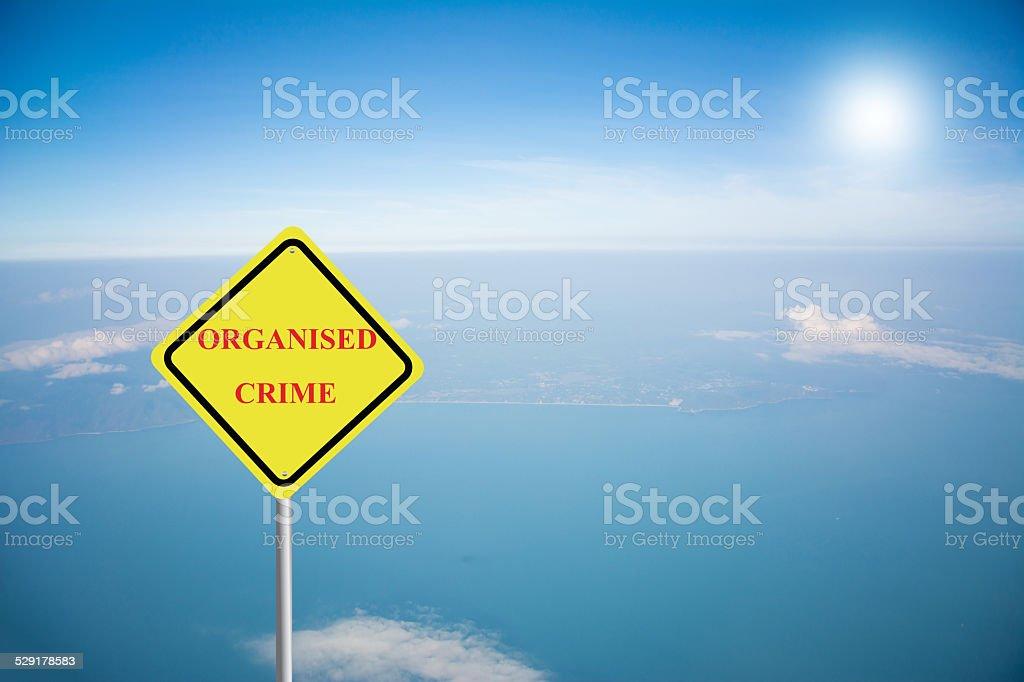 ORGANISED CRIME stock photo