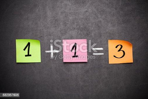 istock 1+1=3 532357605