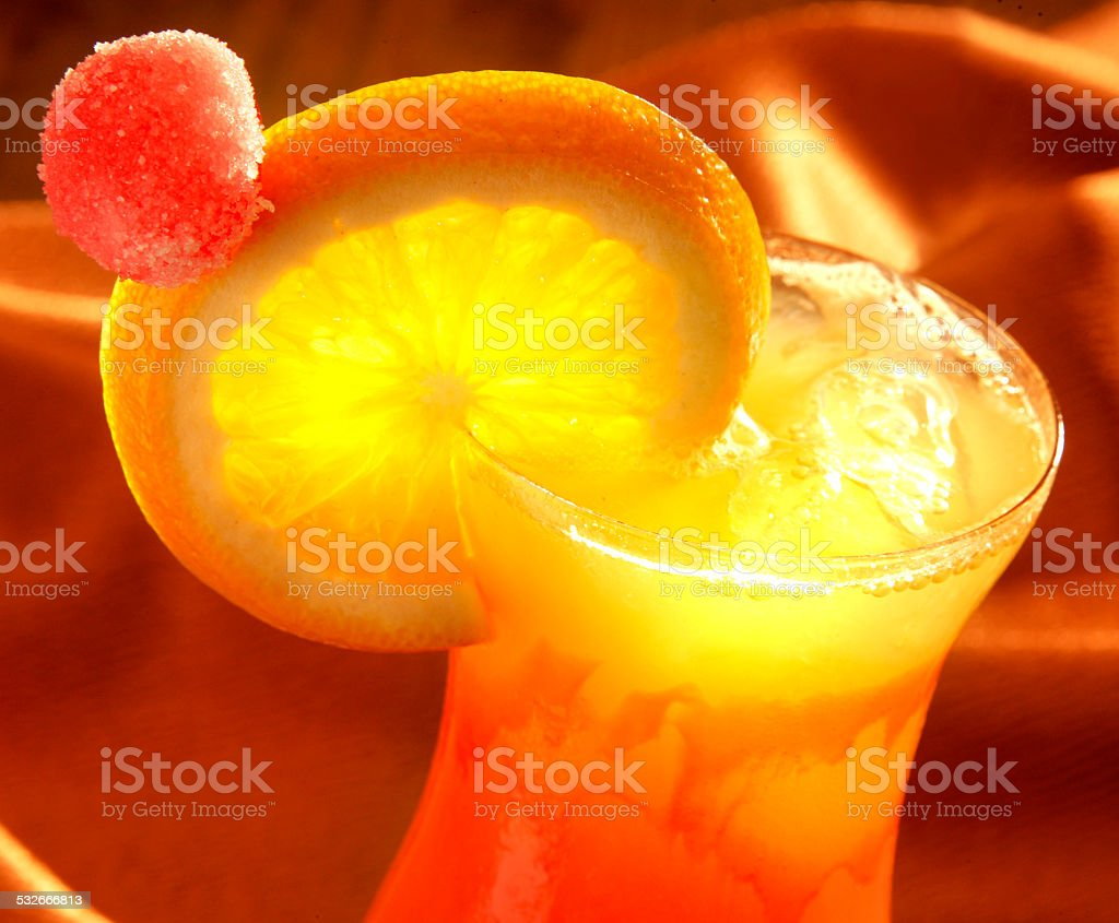 SEX ON THE BEACH COCKTAIL stock photo
