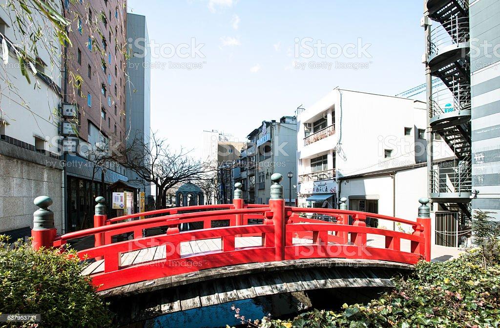 橋 stock photo