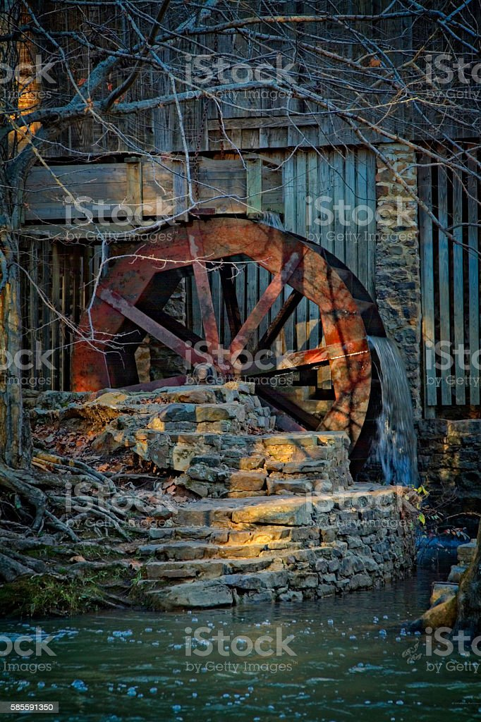 THE MILL stock photo
