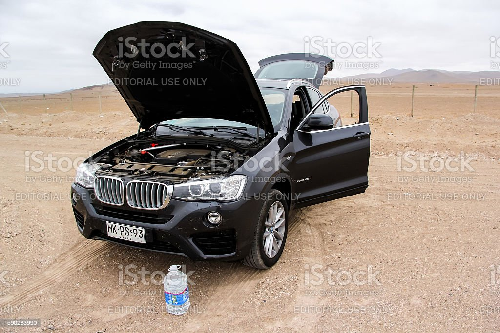 BMW F26 X4 stock photo