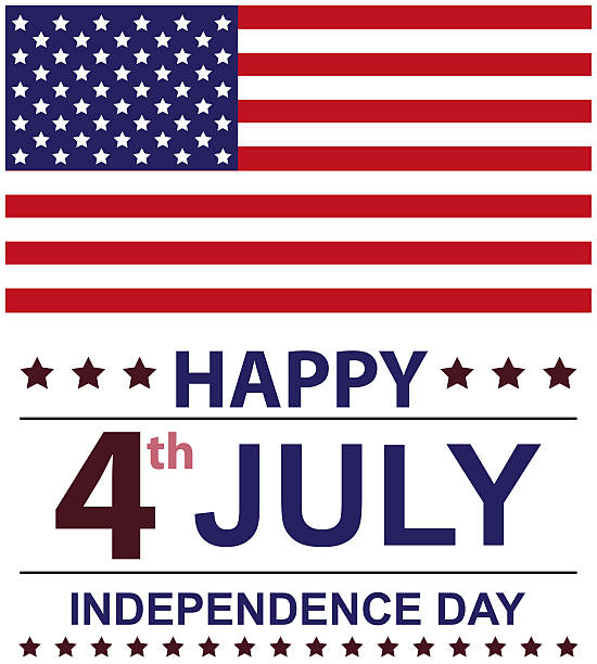 USA INDEPENDENCE DAY stock photo