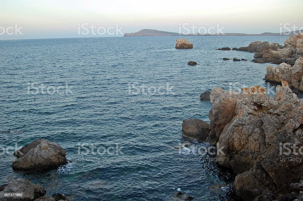 MENORCA ISLAS BALEARES stock photo