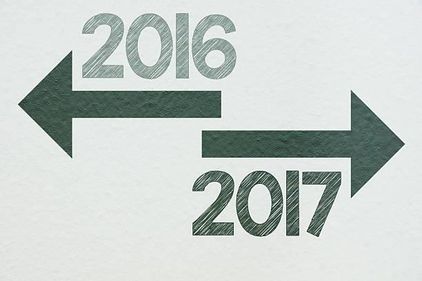 2017  - sprüche kalender stock-fotos und bilder