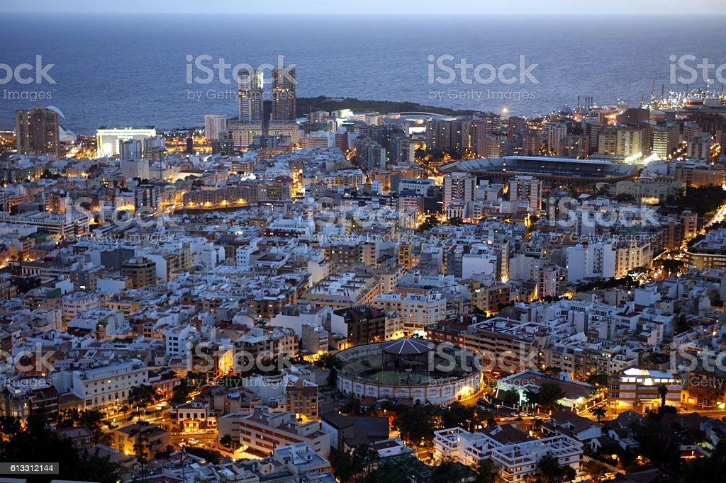 SPAIN CANARY ISLANDS TENERIFE stock photo