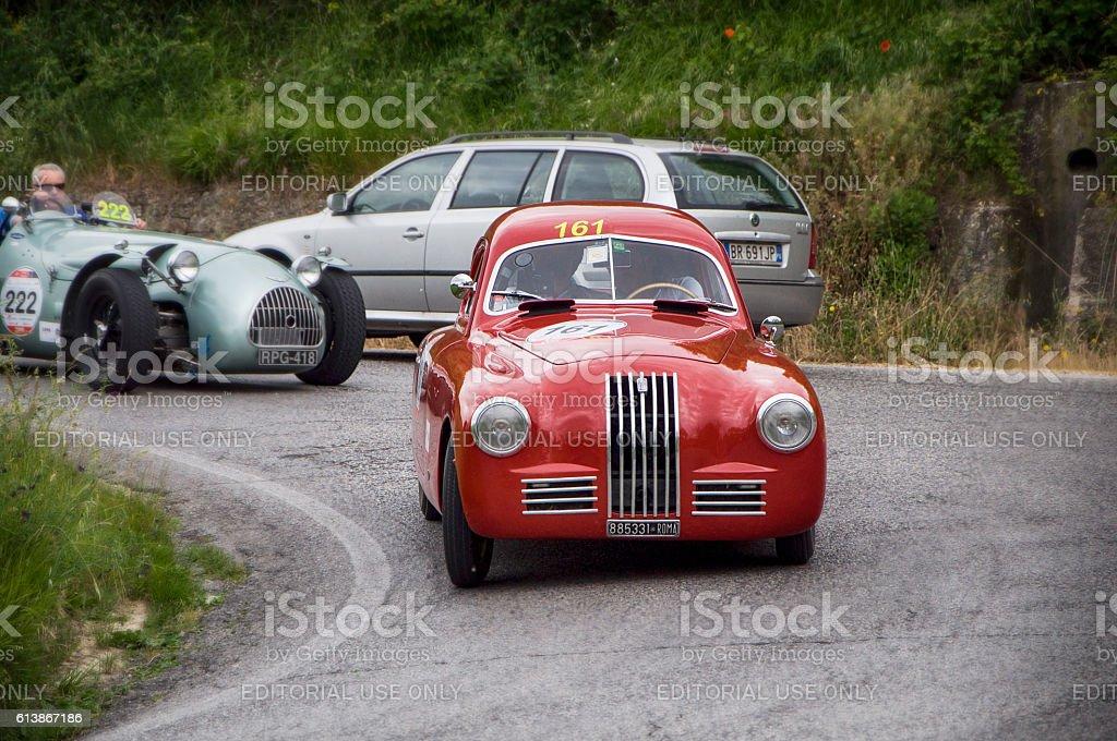 FIAT 1100 S 1948 stock photo