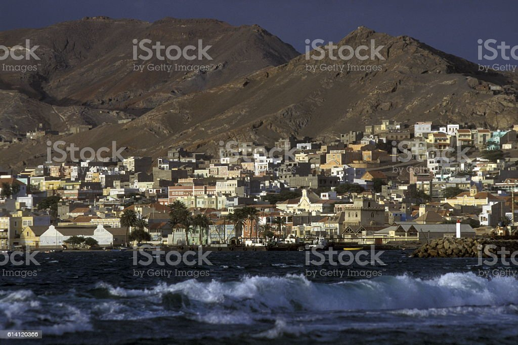 AFRICA CAPE VERDE SAO VICENTE stock photo