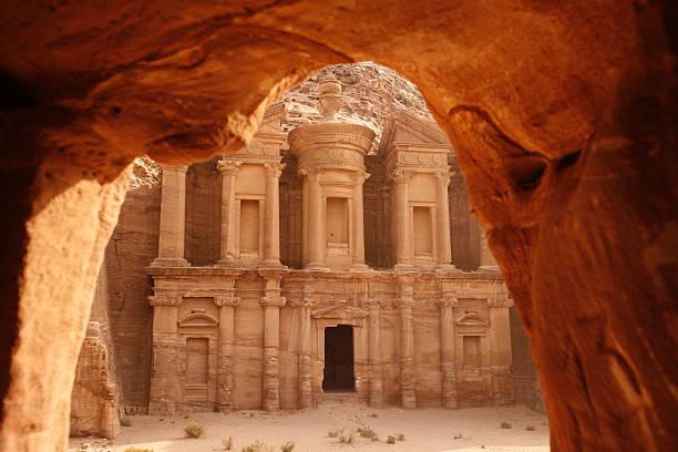asia middle east jordan petra - jordan photos et images de collection