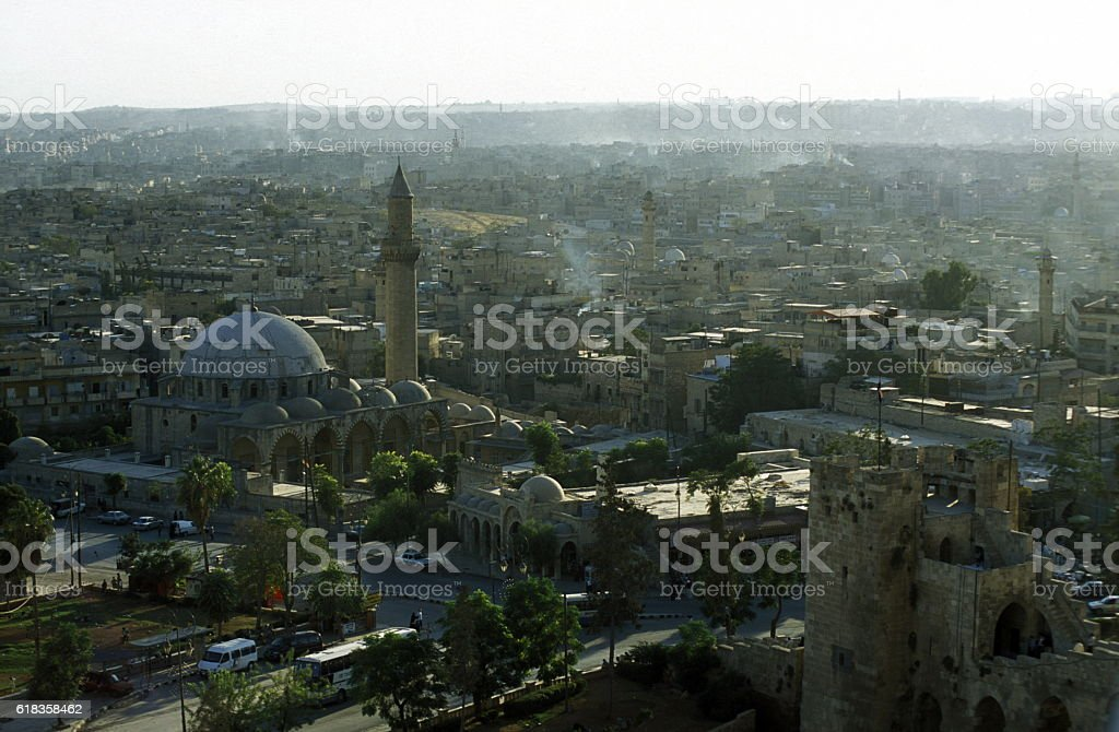 MIDDLE EAST SYRIA ALEPPO OLD TOWN MOSQUE - Photo