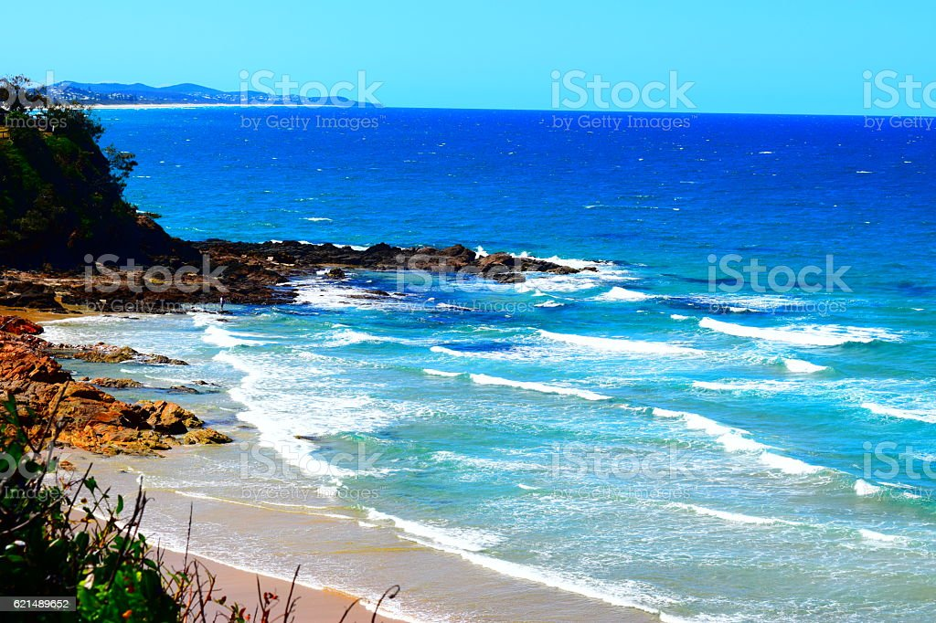 COOLUM SEASCAPES foto stock royalty-free