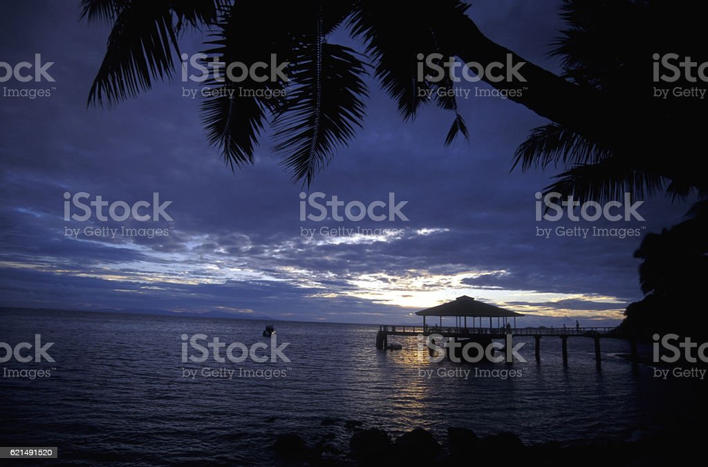 INDIAN OCEAN SEYCHELLES PRASLIN BEACH foto stock royalty-free