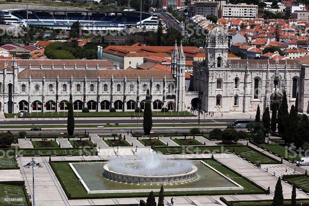 EUROPE PORTUGAL LISBON BELEM JERONIMOS MONASTERY foto stock royalty-free