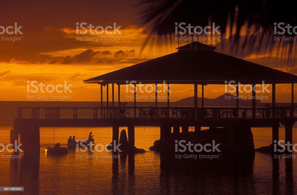 INDIAN OCEAN SEYCHELLES PRASLIN BEACH foto stock royalty-free