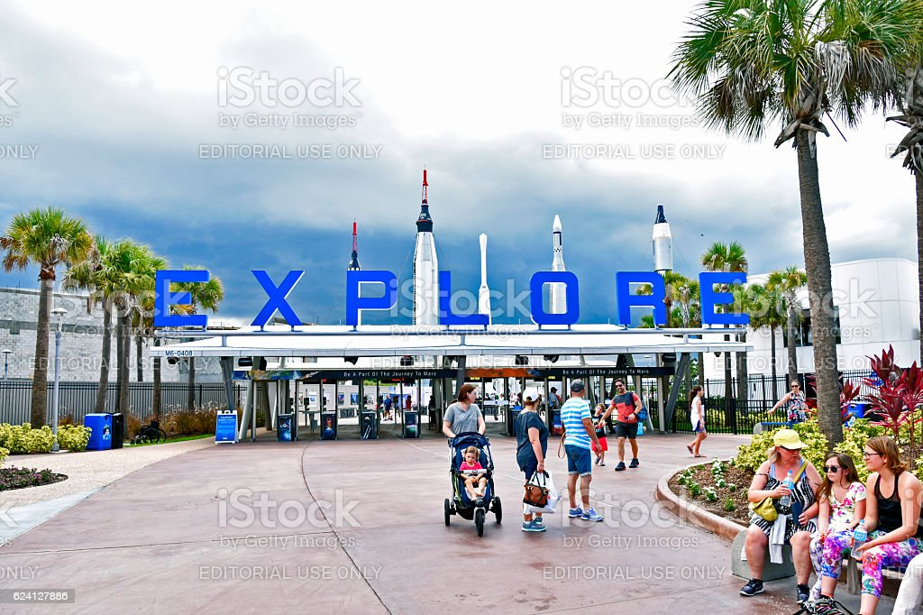 KENNEDY SPACE CENTER stock photo