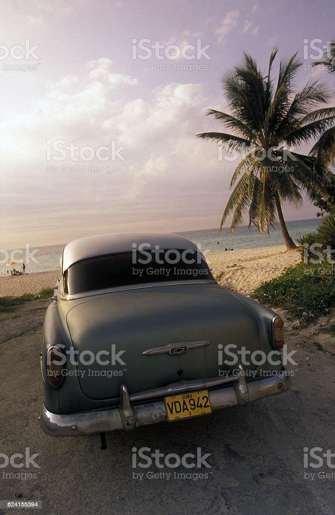 AMERICA CUBA VARADERO BEACH stock photo