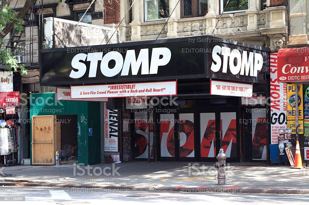 STOMP stock photo