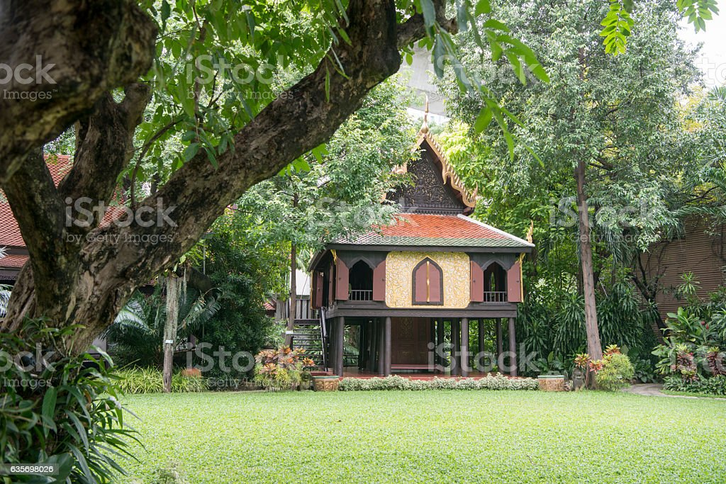 THAILAND BANGKOK SUAN PAKKAD PALACE royalty-free stock photo