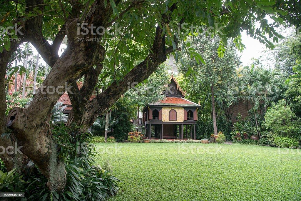 THAILAND BANGKOK SUAN PAKKAD PALACE royalty-free stock photo