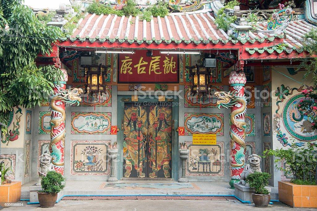 THAILAND BANGKOK CHINA TOWN TEMPLE royalty-free stock photo