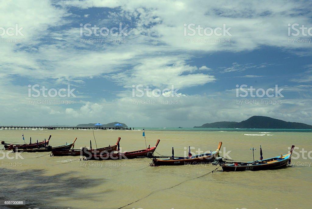 ASIA THAILAND PHUKET RAWAI royalty-free stock photo