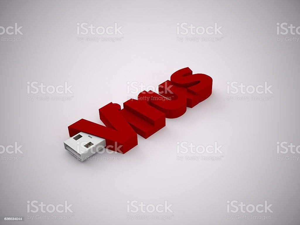 USB stock photo