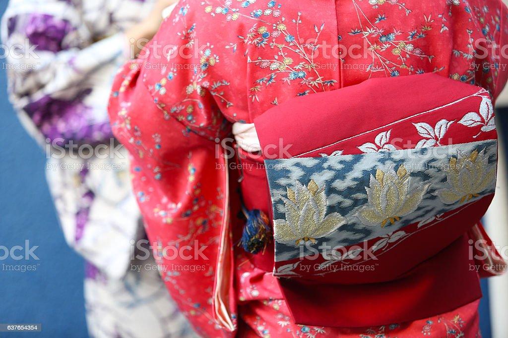 着物 stock photo