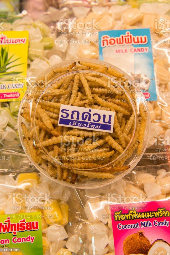 ASIA THAILAND CHIANG MAI TALAT WAROROT FOOD stock photo
