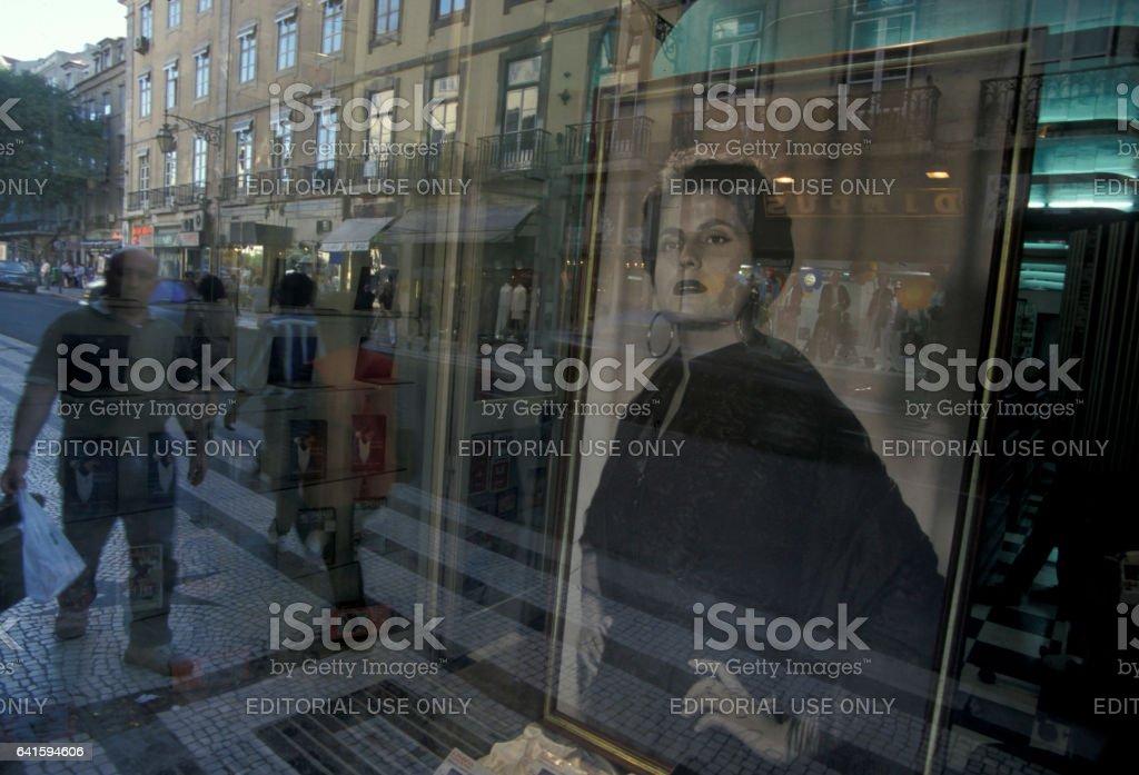 EUROPE PORTUGAL LISBON ALFAMA FADO AMALIA stock photo