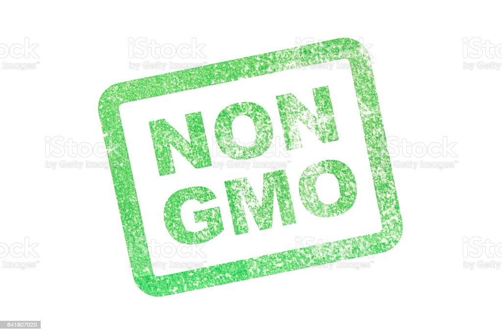 NON GMO stock photo