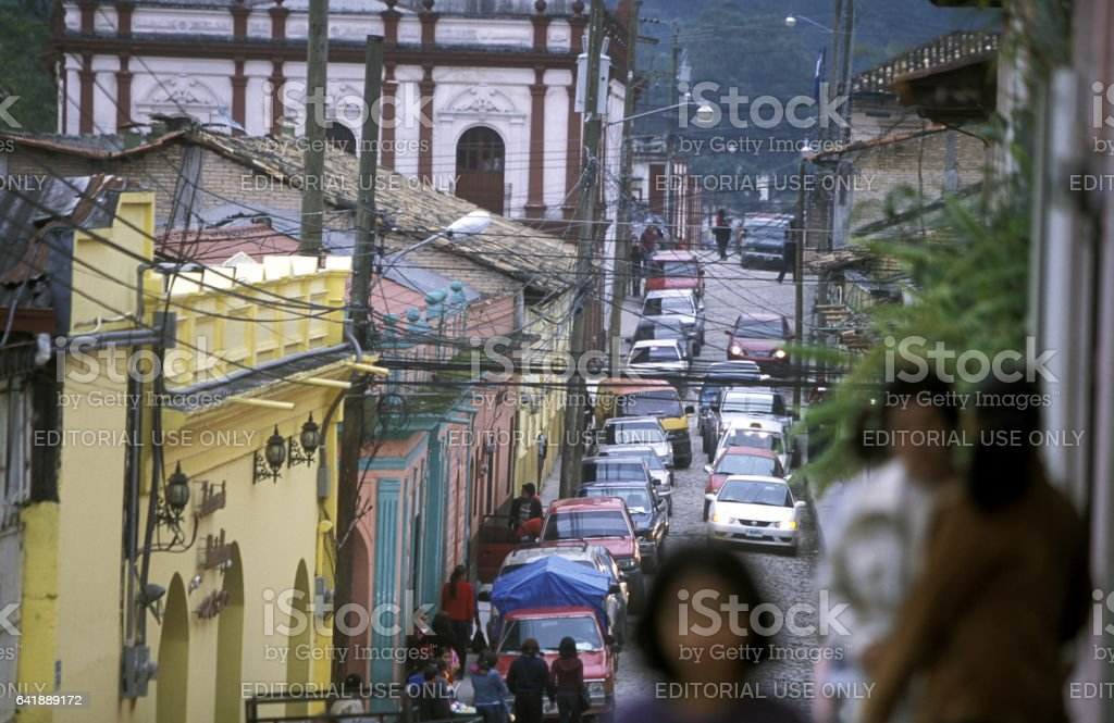 LATIN AMERICA HONDURAS GARCIAS stock photo