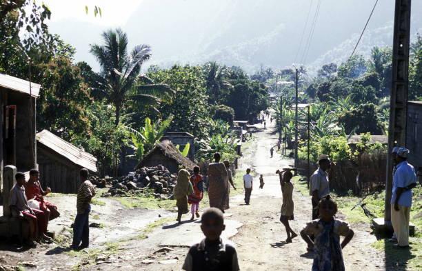 africa comoros anjouan - comores photos et images de collection