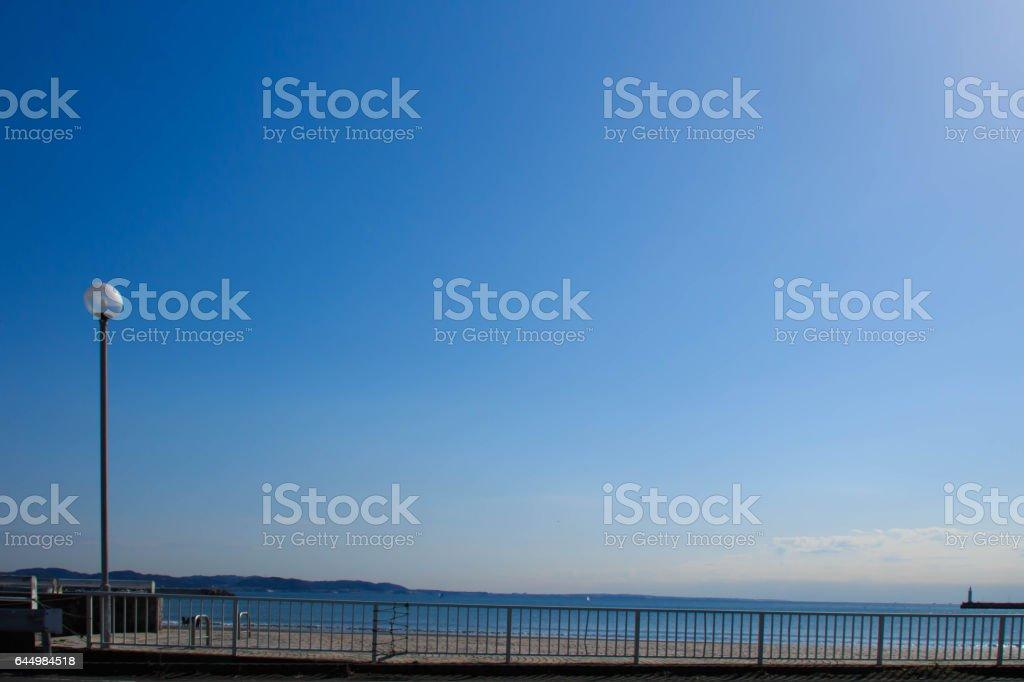 江ノ島からの風景 stock photo