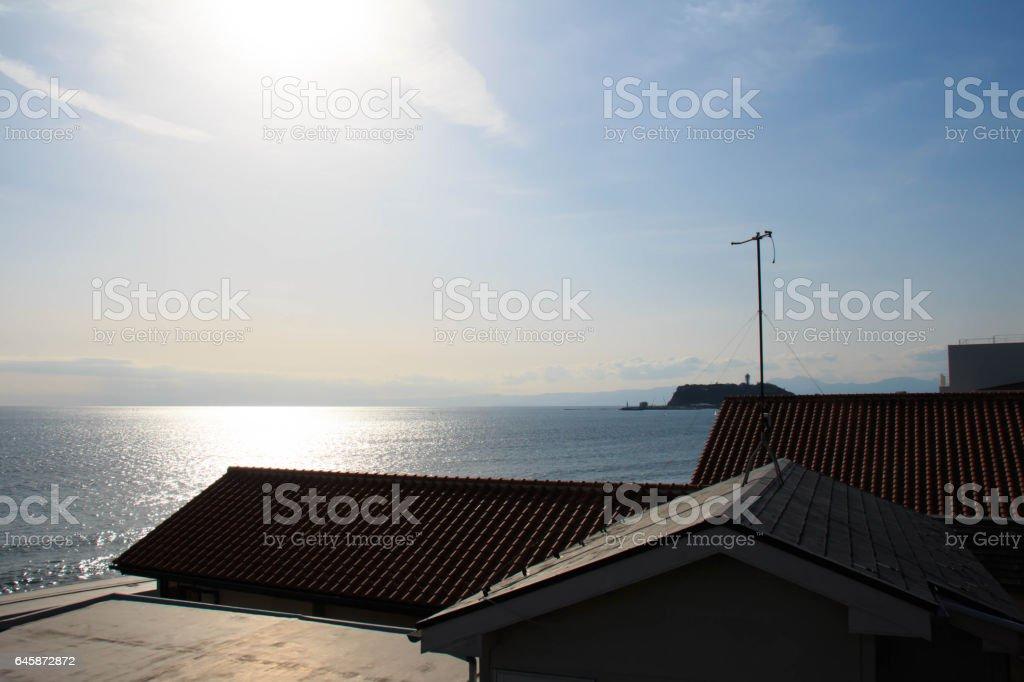 湘南の風景 stock photo