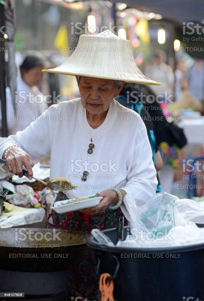 ASIA THAILAND BANGKOK MARKET stock photo