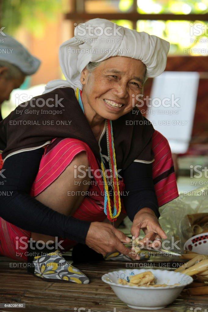ASIA THAILAND CHIANG MAI CHIANG DAO MINORITY stock photo
