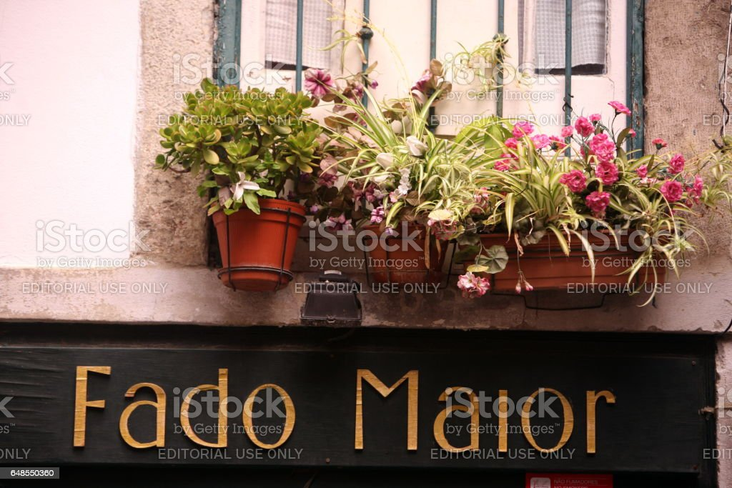 EUROPE PORTUGAL LISBON ALFAMA FADO stock photo