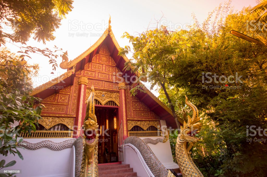 THAILAND CHIANG RAI WAT PHRA KAEW stock photo