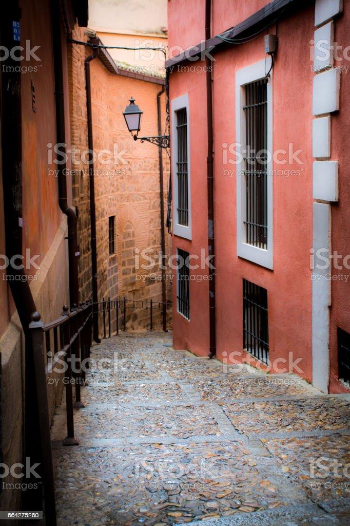 TOLEDO STREETS SPAIN - foto de stock
