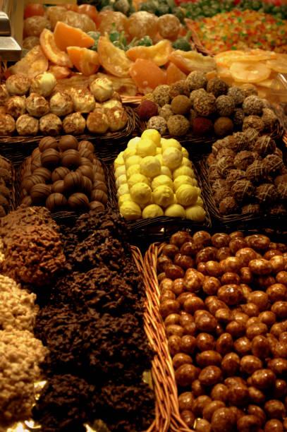 MERCADO DE FRUTAS 2 - foto de stock