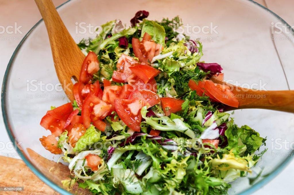 Овощной салат royalty-free stock photo
