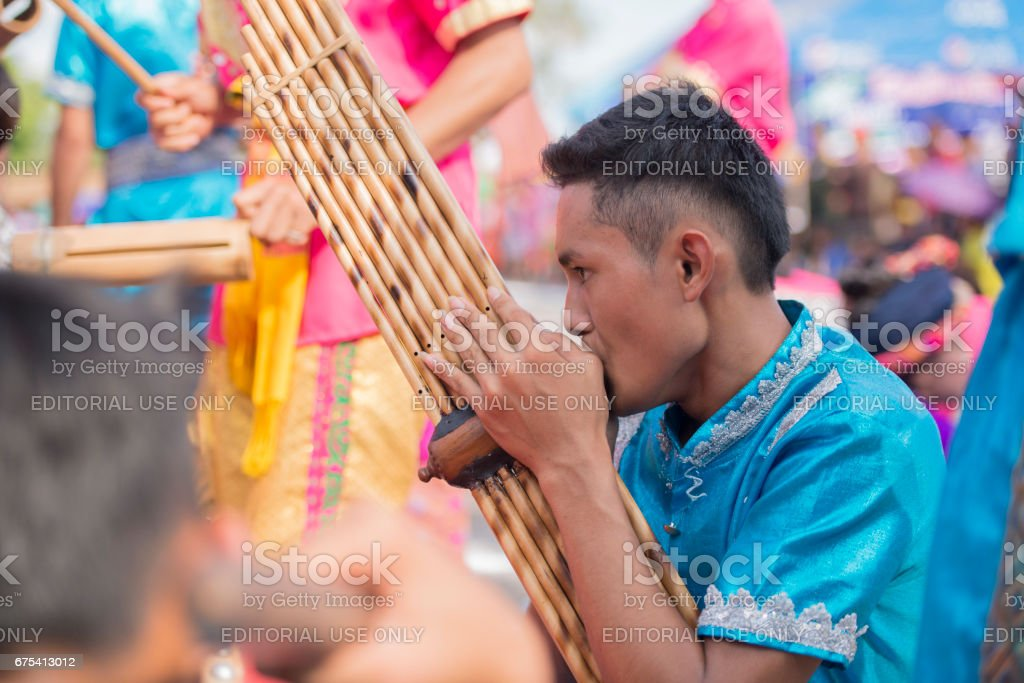 LAOS VIENTIANE PHA THAT LUANG FESTIVAL stock photo